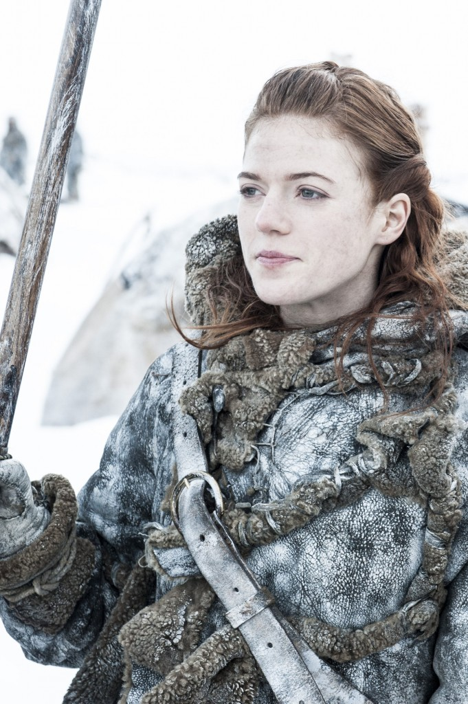 Game of Thrones: Ygritte Game of Thrones: Mance Rayder (Helen Sloan/HBO)
