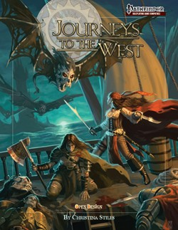 Journeys to the West: Cover (Midgard Campaign, Open Design)