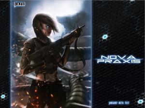 Nova Praxis: New Cover (Andree Wallin)