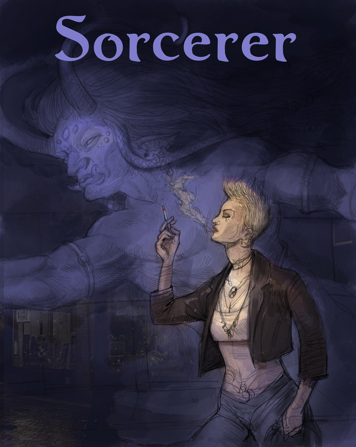 Sorcerer: Cover (by Thomas Denmark)