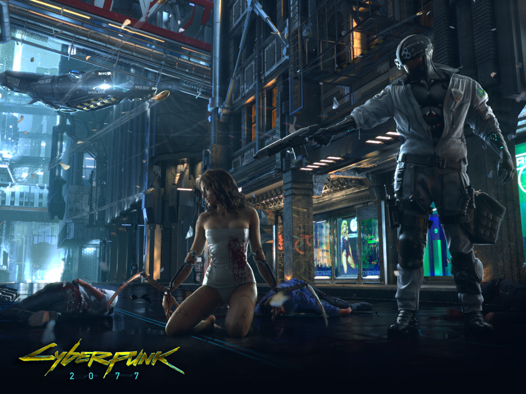 Cyberpunk_2077: Teaser Wallpaper (CD Projekt Red)