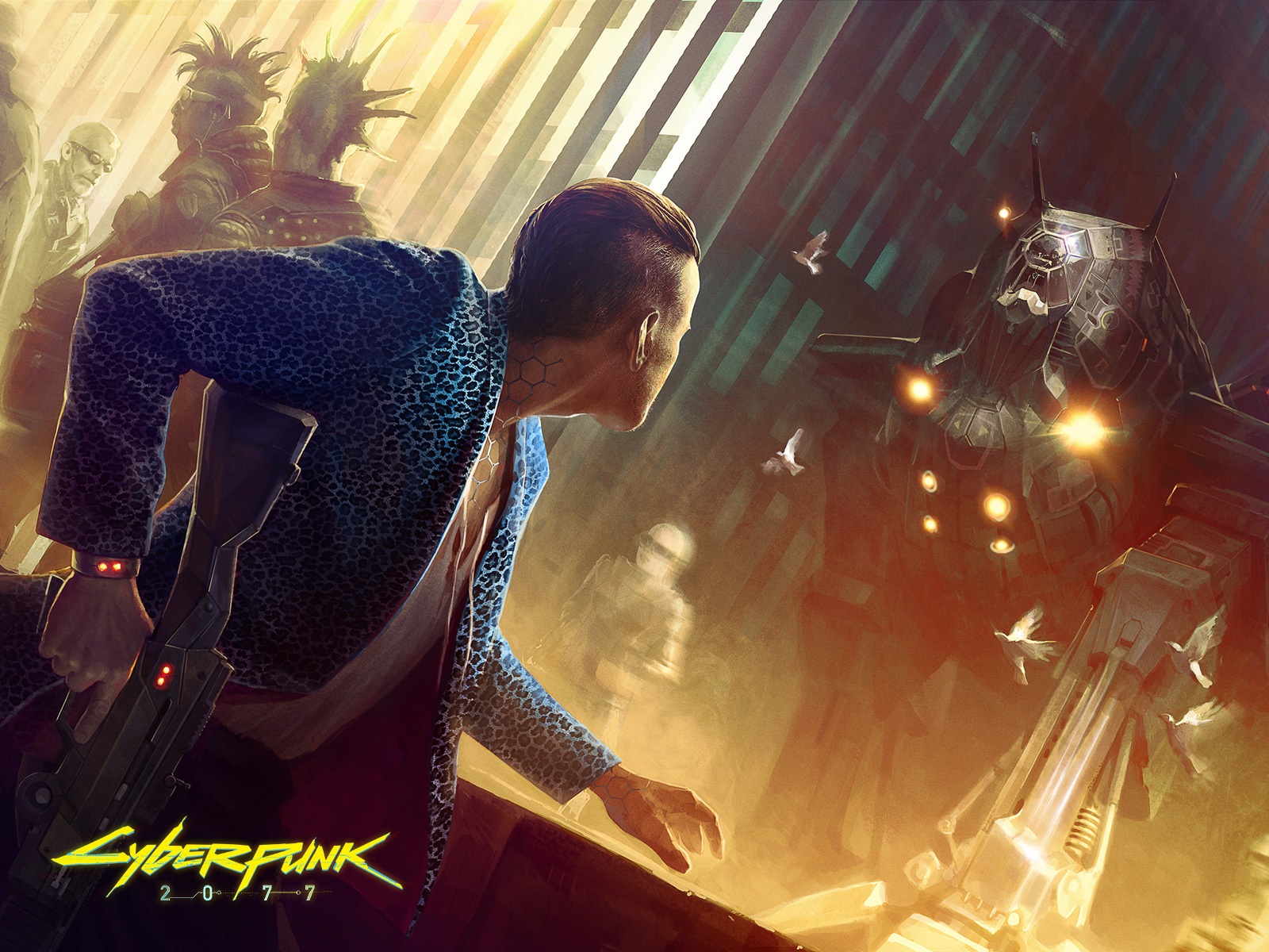 Cyberpunk 2077: Men vs. Machine? (CD Projekt Red)