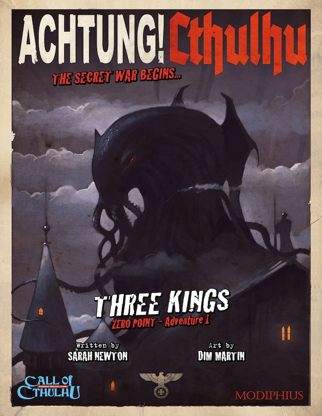 Achtung! Cthulhu - Three Kings (Modiphius Entertainment)