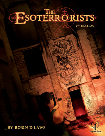 Esoterrorists  2nd Edition: Cover (Pelgrane Press)