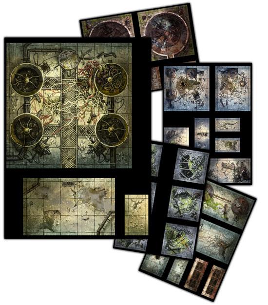 Shadows of Esteren: Tiles (Agate Editions)