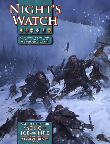 A Song of Ice and Fire RPG: Night's Watch (Slawomir Maniak, Green Ronin)