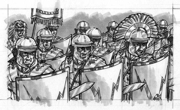 Centurion: Legionaries of Rome - Another Day at the Office (Fraser Ronald)