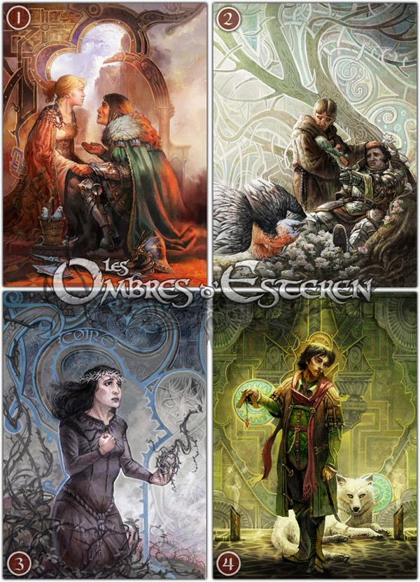 Les Ombres d'Esteren: Eighan (Agate Editions)