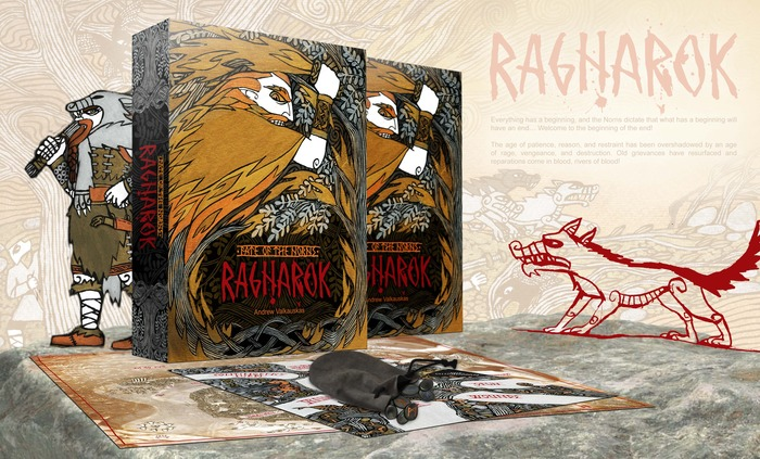 Fate of the Norns Ragnarok - Box concept (Helena Rosova, Pendelhaven)
