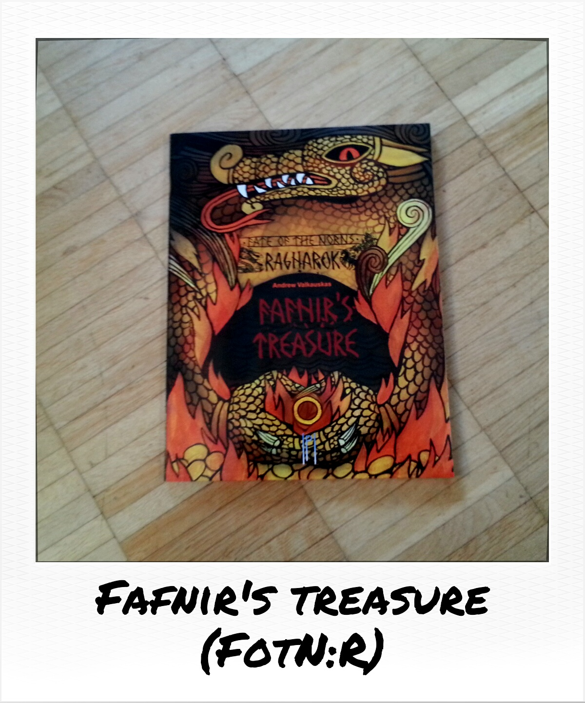 Fate of the Norns Ragnarok - Fafnirs Treasure: Runes (Helena Rosova, Pendelhaven)