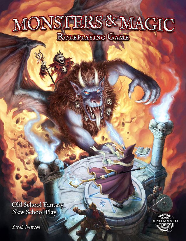 Monsters & Magic (Mindjammer Press/Chronicle City)