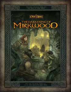 The One Ring: The Darkening of Mirkwood (John Hodgson, Cubicle 7 Entertainment Ltd & Sophisticated Games)