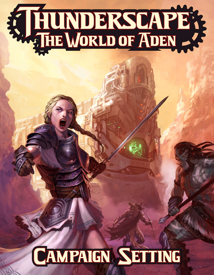 Thunderscape: The World of Aden Campaign Setting (Diego Gisbert Llorens)