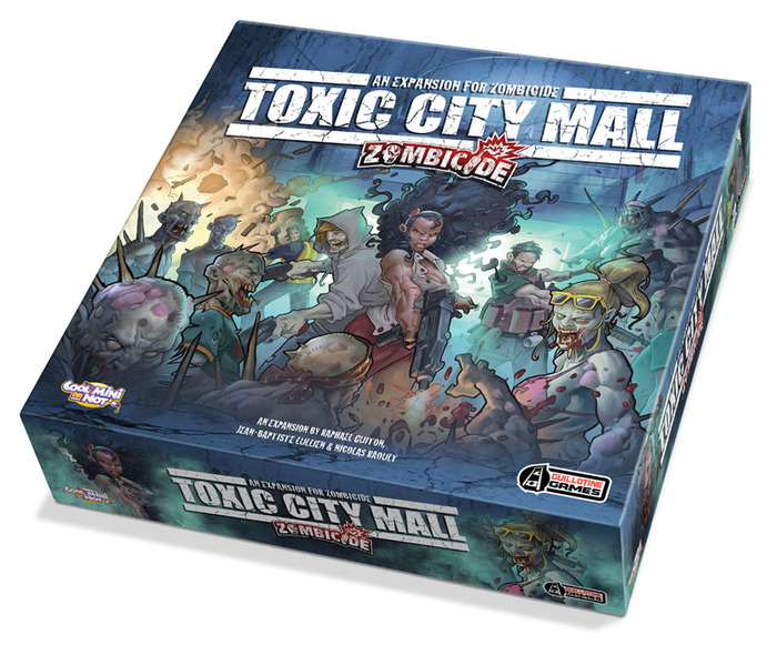Zombicide Toxic City Mall (CoolMiniorNot/Guillotine Games)