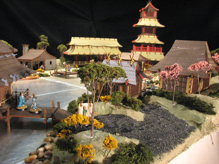 East Asian Village for 28mm Gamers (Renaissance Miniatures)