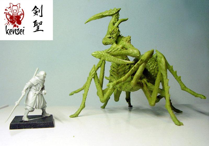 Kensei: Jorogumo (Zenit Miniatures)