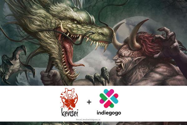 Kensei Fantasy Creatures Indiegogo (Zenit Miniatures)