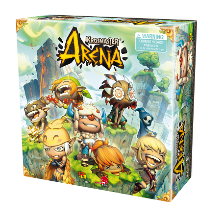 Krosmaster Arena Anime Miniatures Board Game (Ankama, Japanime Game)