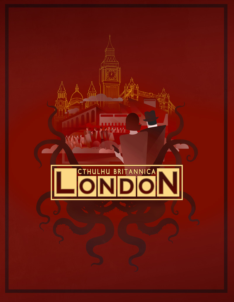 London Boxed Set for Cthulhu Britannica (©2013 Cubicle 7 Entertainment Ltd.)