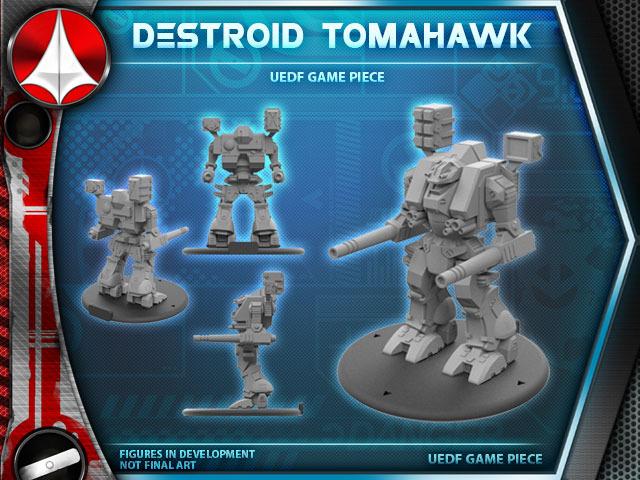 Robotech RPG Tactics: Destroid Tomahawk (Palladium Books)