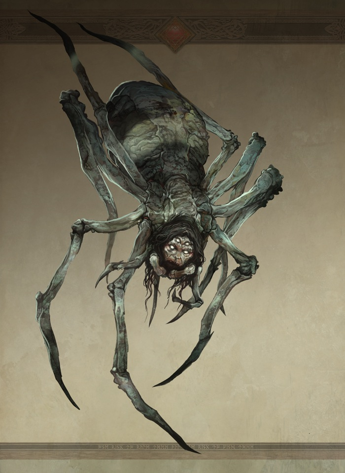 Great -Spider (©2011 Sophisticated Games and Cubicle 7 Entertainment Ltd.)