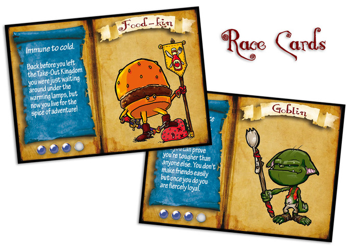 Adventure Maximus: Race Cards (Eden Studios)