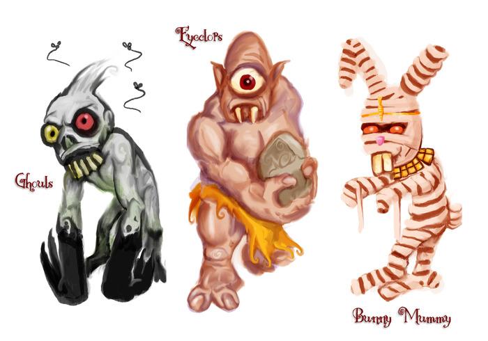 Adventure Maximus: Monsters (Eden Studios)