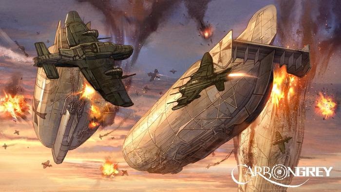 Carbon Grey: Airships (Hoang Nguyen, Image Comics)