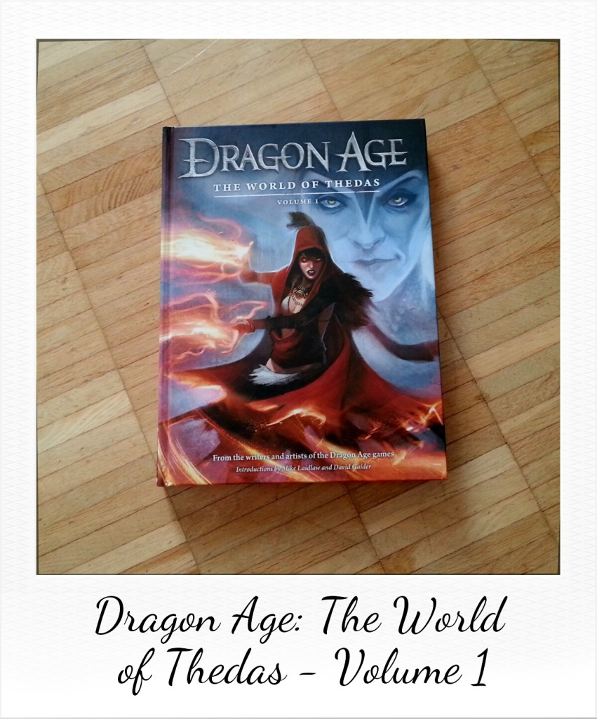 Dragon Age: The World of Thedas (private picture of the book by Dark Horse Comics)