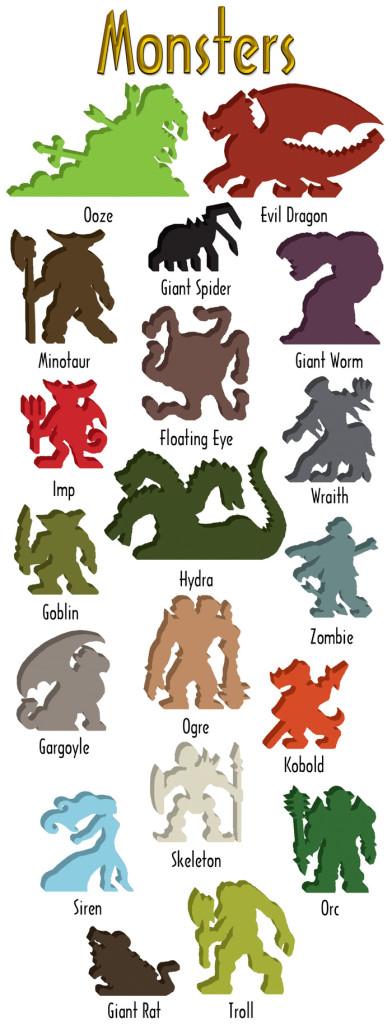 Fantasy Gaming Figures: Monsters (Gamelyn Games)