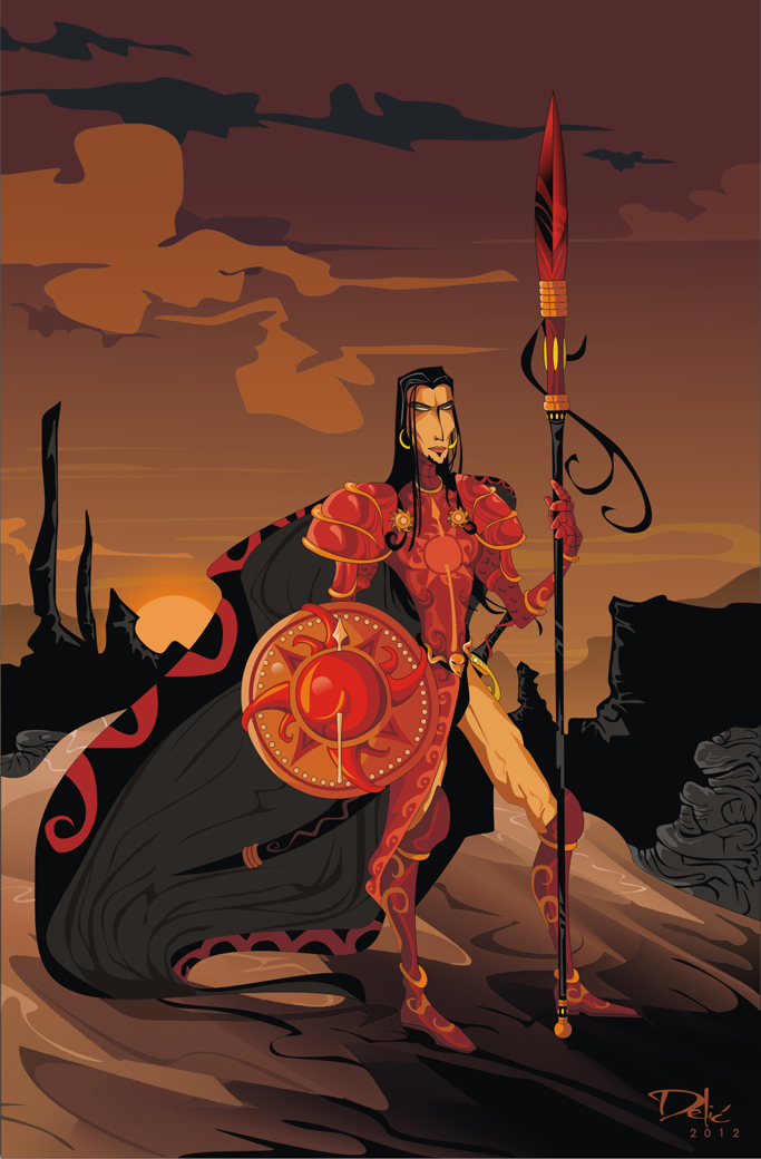 Game of Thrones: Oberyn Martell(Dejan Delic ©2012, All Rights Reserved.)