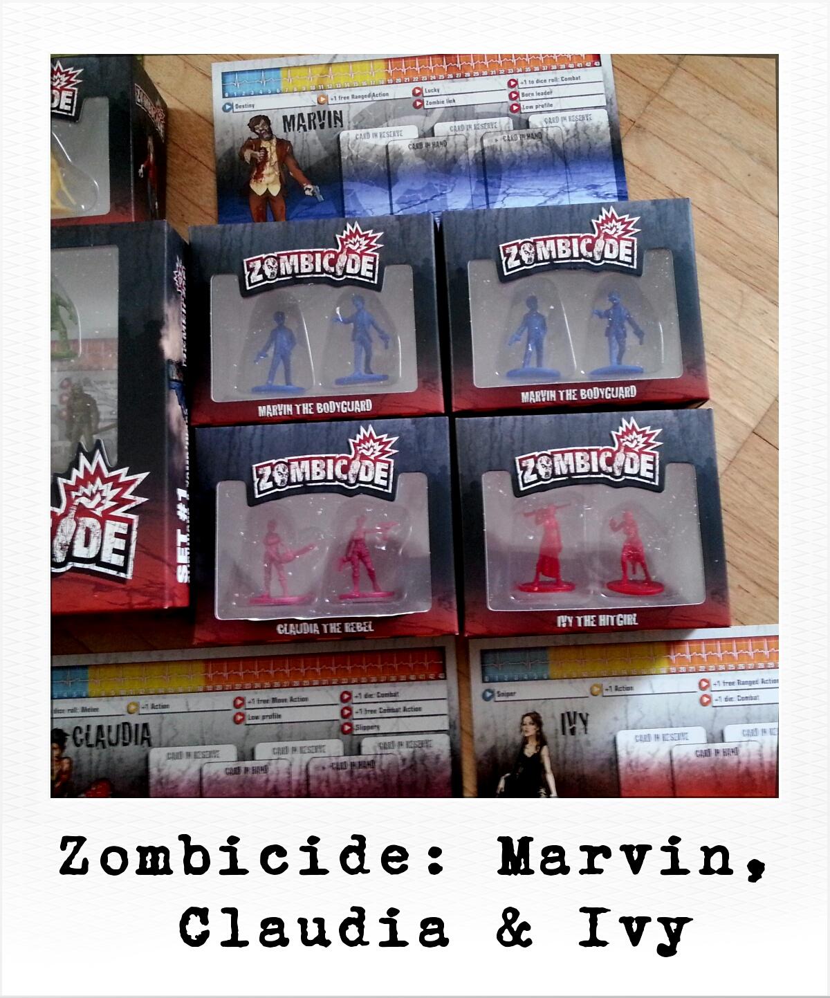 Zombicide: Marvin, Claudia & Ivy (Privates Foto)