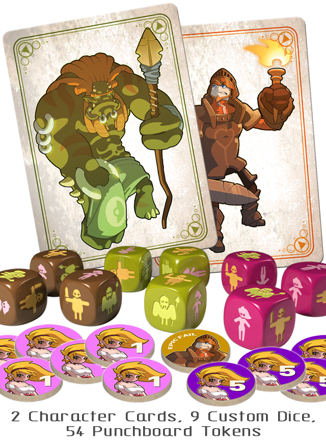 Monsters & Maidens (Royce McLean, Clever Mojo Games, Game Salute)