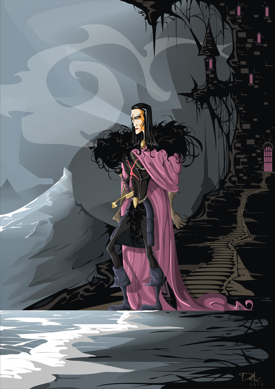 Game of Thrones: Roose Bolton - Lord of the Dreadfort / The Leech Lord (Dejan Delic ©2012, All Rights Reserved.)