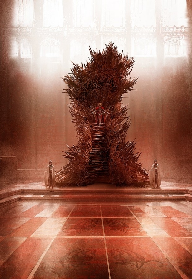 Game of Thrones: The Real Iron Throne (Marc Simonetti. ©2013, All Rights Reserved.)