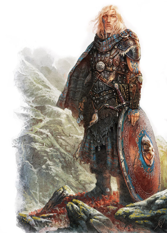 Shadows of Esteren RPG: Kavan Mac Dougal (Image: Gawain, Agate Editions, Studio 2)