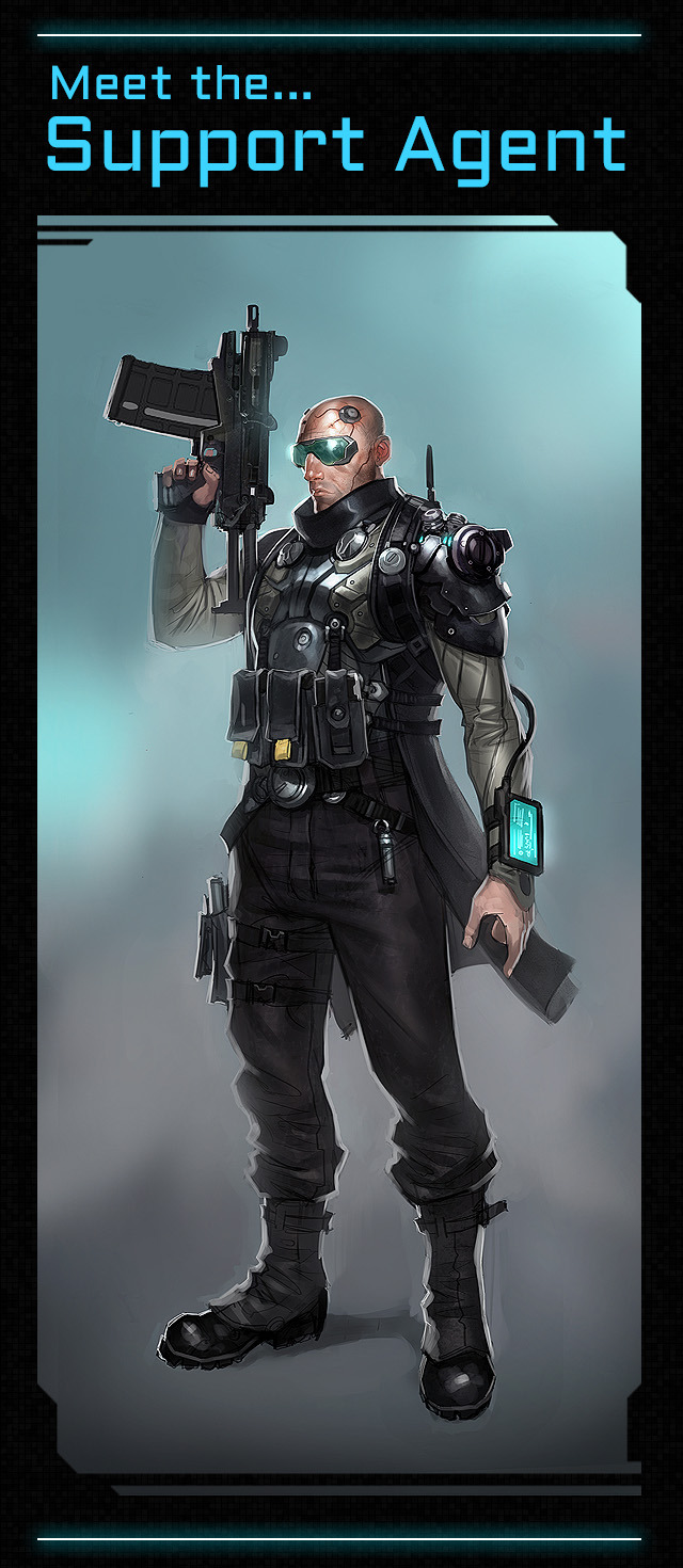Satellite Reign: Support Agent (5 Lives Studios)