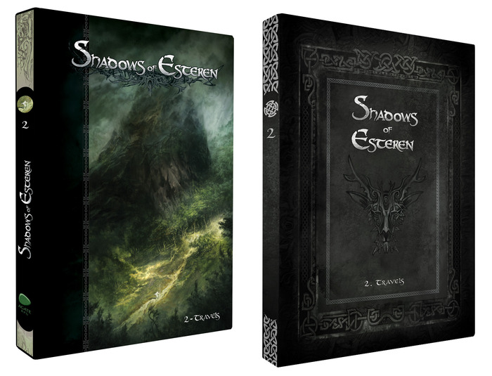 Shadows Of Esteren: Travels - Standard and Limited Edition (Agate Editions, Studio 2)