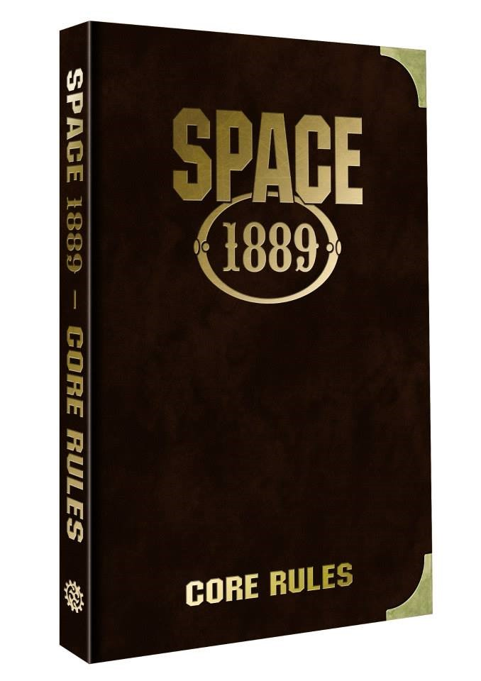 Limited Edition versions of Space: 1889 Core Rulebook - Variant B (Clockwork Publishing, Chronicle City)