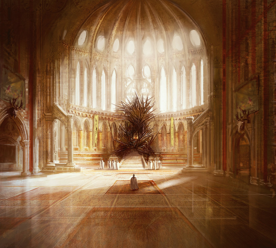 Game of Thrones: The Real Iron Throne (Marc Simonetti. ©2012-2013, All Rights Reserved.)