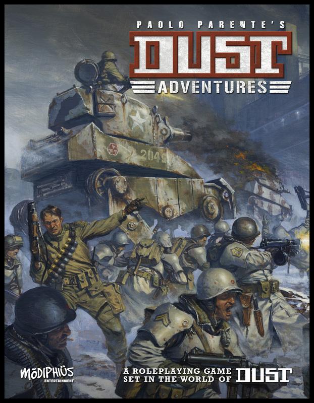 Dust Adventures (Modiphius Entertainment)