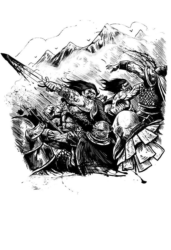 Malmsturm: Fight (Björn Lensig, Uhrwerk Verlag)