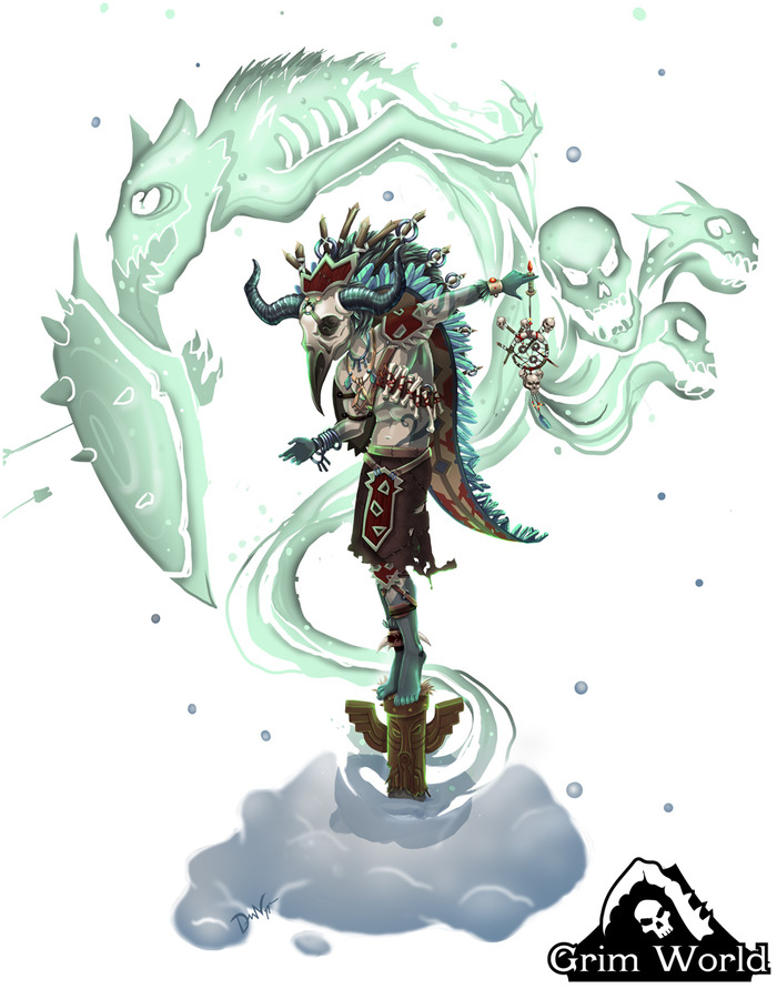 Grim World: Shaman (Deanna Nygre, Boldly Games)
