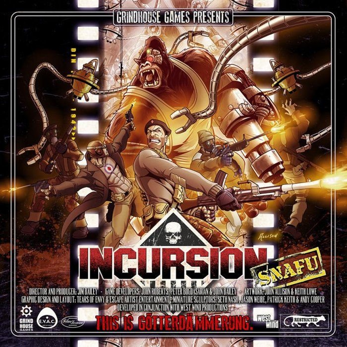 Incursion: Snafu Expansion (Grindhouse Games)