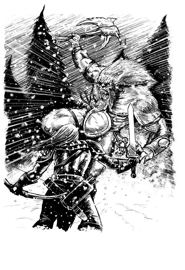 Malmsturm: Into the Storm (Björn Lensig, Uhrwerk Verlag)