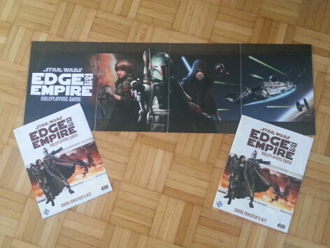 Star Wars: Age of Rebellion Beta? No, Star Wars Edge of the Empire Screen (Privates Foto)