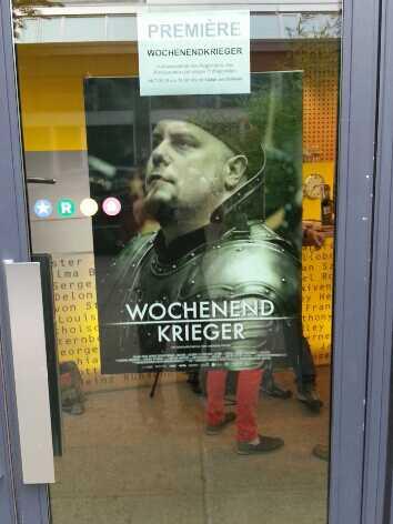 Wochenendkrieger: Premiere des Films über Live Action Role Playing (LARP) (Privates Foto vor der Aufführung)
