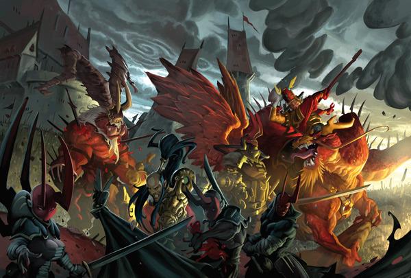 Wrath of Kings: Battle (CoolMiniOrNot)