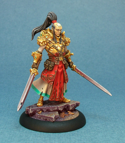 Wrath of Kings: Dragon Legion Keeper (painted example, CoolMiniOrNot)