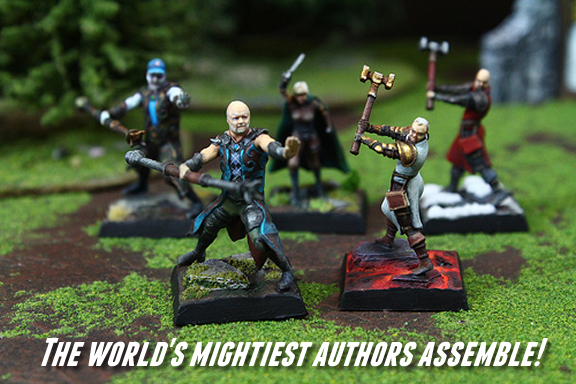 Mimic Miniatures: Personalized Gaming Miniatures: Dave Farland, Tracy Hickman, Laura Hickman, Larry Correia, and Carter Reid lead the charge! (Mimic Miniatures)